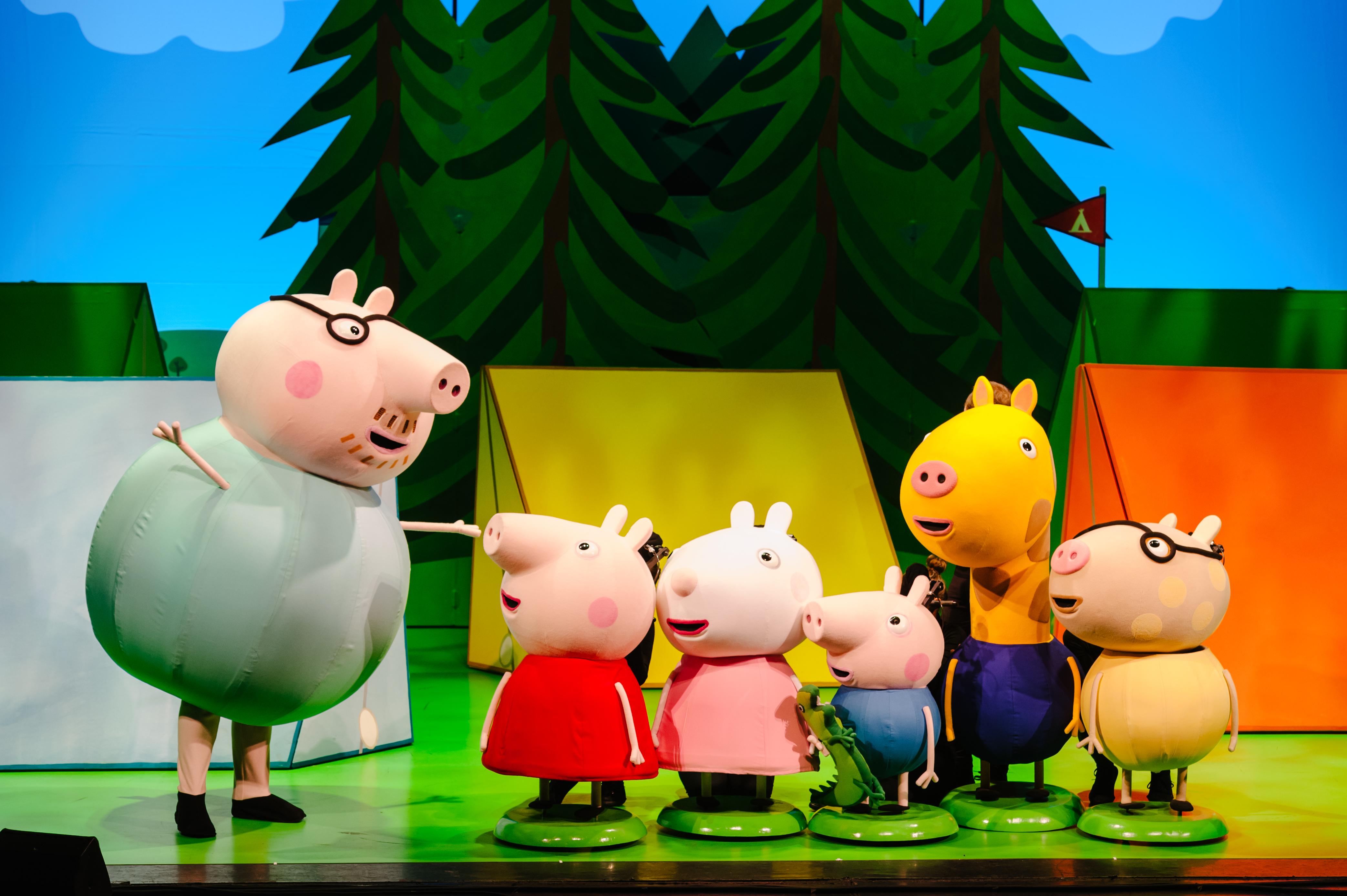 Peppa Pigs Adventure Live Show Review Wander Mum