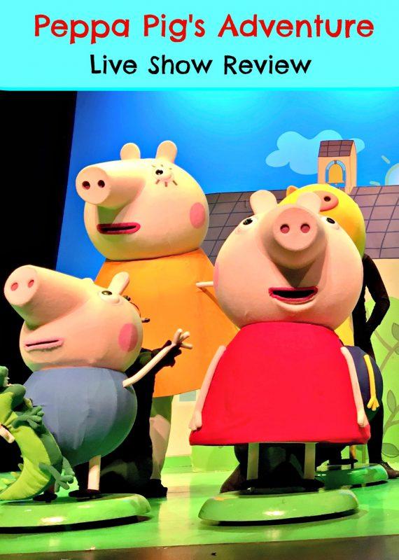 Peppa Pig's Adventure: Live Show Review - Wander Mum